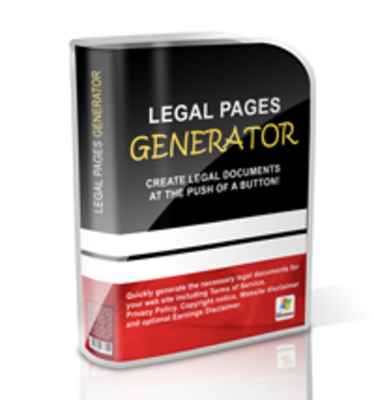 Product picture Legal Pages Generator